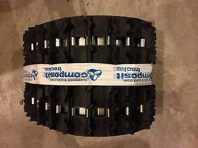 """New Composit T32 snowmobile track 121 X 15 X 1.25"""" Lug Fully Clipped"""