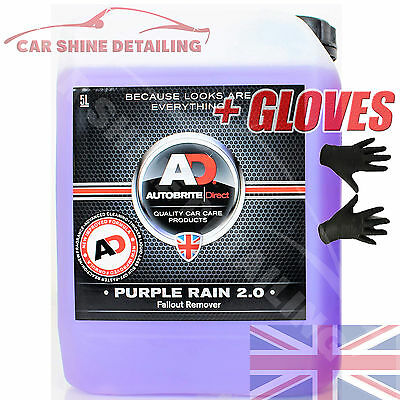 Autobrite Direct 5L Purple Rain, Iron Decontamination Fallout Remover