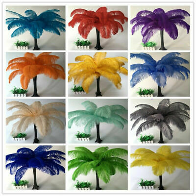 Wholesale 10-100pcs high quality beautiful ostrich feathers 6-24inches/15-60cm