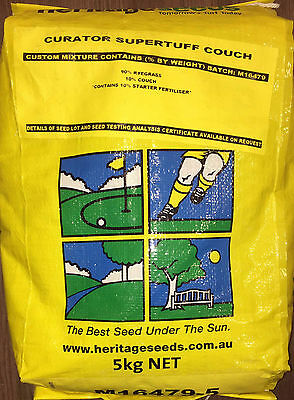 Curator Supertuff Couch Lawn Seed Blend 5kg