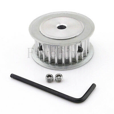 HTD 5M 25T 25-Teeth 16mm-Width Aluminum Timing Belt Drive Pulley Choose Bore