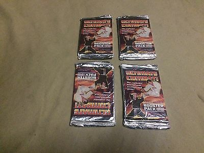 4 Packs Ultimate Combat Limited Edition Booster Pack (New/outer Sealed)