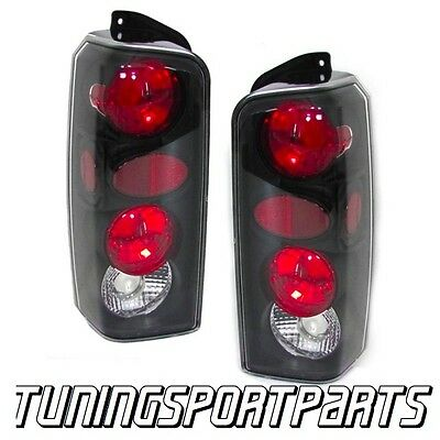 Rear Tail Dark Lights For Jeep Cherokee Xj 96-01 Lamp Fanale Posteriore