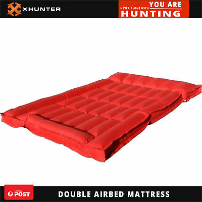 Heavy Duty Double Lilo Inflatable Hiking Camping Airbed Sleeping Air Mattress