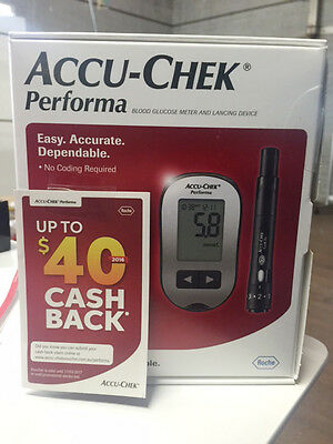 Accu-Chek Performa Blood Glucose Meter & Lancing Device +  up to $40 CashBack