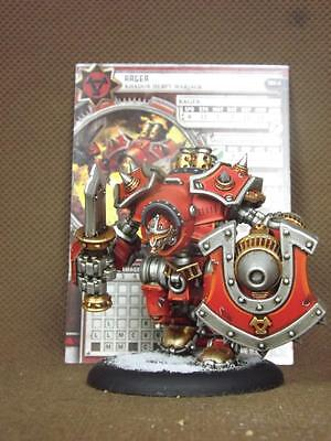 50mm Warmachine KPW painted  Khador  Warjacks Rag
