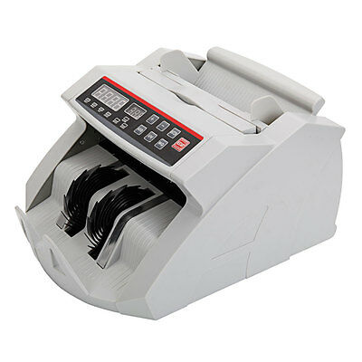 Money Bill Currency Counter Counting Machine Bank Counterfeit Detector UV MG