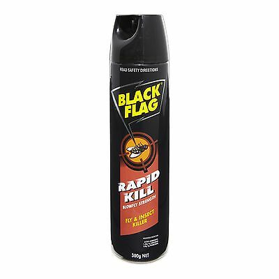 Black Flag RAPID KILL INSECTICIDE for Fly Mosquito Moth Ant Silverfish Spider 30