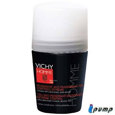 VICHY Homme deo anti-traspirante 72h roll-on 50ml