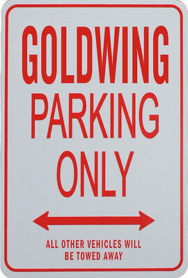 GOLDWING Parking Only Sign - Honda