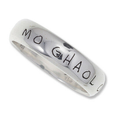 Gaelic Ring in Cornish 925 Silver by St Justin SR962