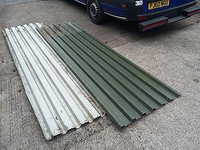 Corrugated Galvanised Steel Sheets roof roofing metal x 9