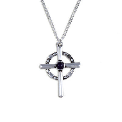 Robin of Locksley Cross in Cornish Pewter by St. Justin, UK -XN115G