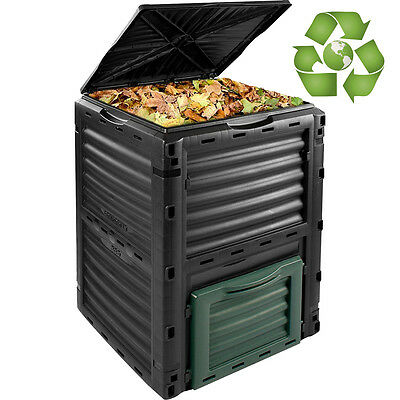 Eco Composter Bin Garden Waste Food Box Collector Recycling Converter 300 Litre