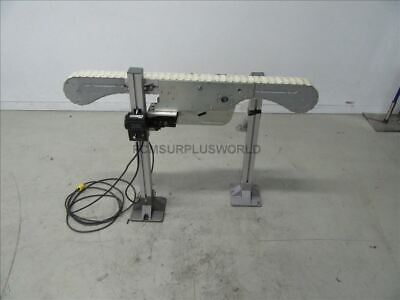 Flexlink Conveyor Model XM 3.25''W x 48''L x 35.5 With DC Drive and Motor 120v