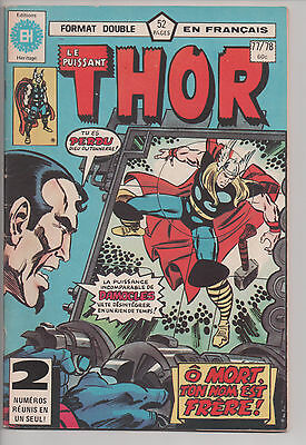 THOR #77/78 french comic EDITIONS HERITAGE