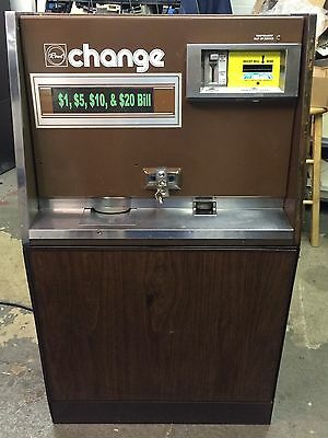 Rowe BC 25 MC Bill Changer W/ New Upgrade Kit $1-$20 Works Great