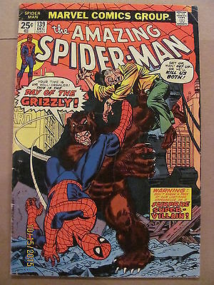 Amazing Spider-Man #139 Marvel Comics 1963 Series 1st app The Grizzly