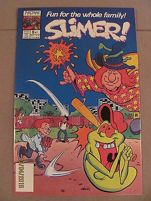 Slimer #6 NOW Comics 1989 The Real Ghostbusters SLIMER! 9.2 Near Mint-