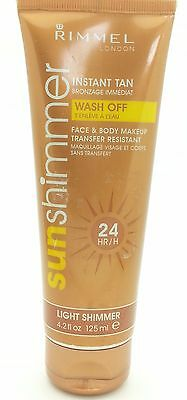Rimmel Instant Tan Sun Shimmer 125ml - Available in 6 Shades