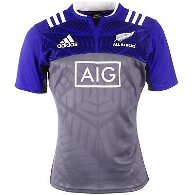 New Zealand All Blacks Training Champion Rugby Jersey Shirt Top