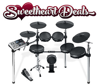 NEW Alesis DM10 X Mesh Kit Six-Piece Electronic Drum Kit with Mesh Drum Heads