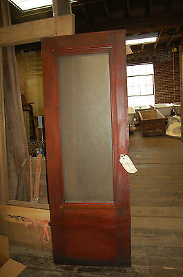 Antique Office Door With Glass The Studebaker Offices In South Bend, In.27 X 76