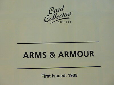 """*3* Card Collectors Society Full Reproduction Set  """"ARMS & ARMOUR""""  1909"""