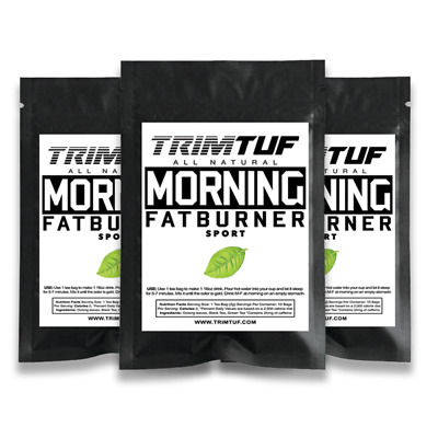 TRIMTUF 30 Day Fat Burner Slimming Tea Set Weight Loss Diet