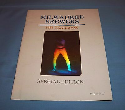 Milwaukee Brewers 1988 Official Yearbook