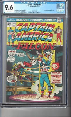Captain America #168 CGC 9.6 White Pages 1st Apperance of Helmut Zemo