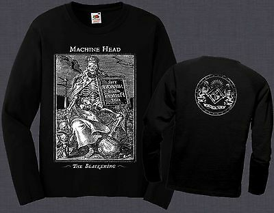 MACHINE HEAD-The Blackening- heavy metal band,T-shirt long sleeve-sizes:S to XXL