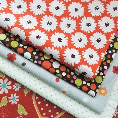 £1 SALE CLEARANCE Moda & Others Designer Fabric 100% Cotton Kids Floral Dot