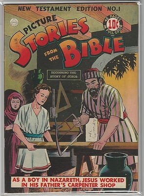 Picture Stories From The Bible # 1