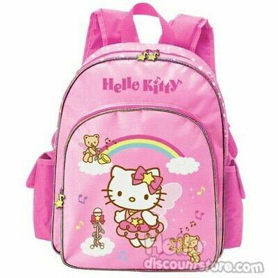 New Sanrio Hello Kitty Pink Meduim Backpack : Melody Angels
