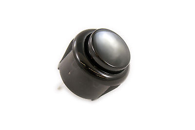Black 24mm Arcade Push Buttons (Can replace Sanwa OBSF-24) US Seller