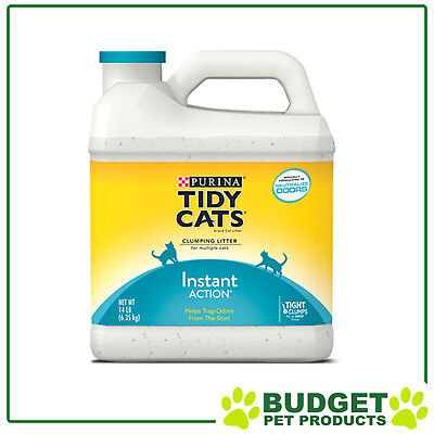 Purina Tidy Cats Clumping Clay Litter Instant Action For Cats 6.35kg