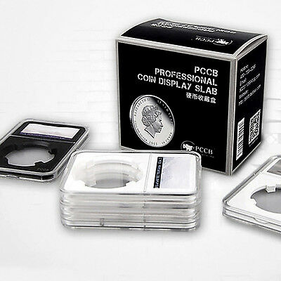 Coin Slab Holders PCCB for Grade PCGS Collection Storage Box Protector Display