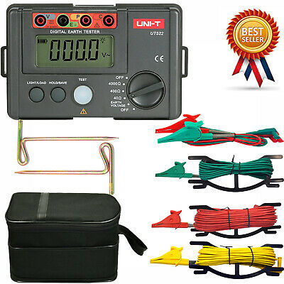 UNI-T UT522 Megger Digital Earth Ground Insulation Resistance Tester