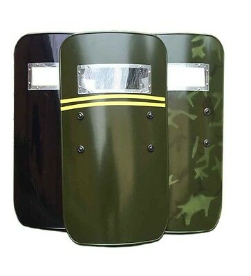 PC Army Green/Black Police SWAT Anti-riot Shield for Security Protection