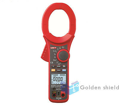 UNI-T UT221 2000A True RMS Digital Clamp Meter DC AC Volt Amp Ohm Frequency Test