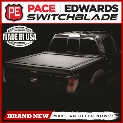 "Pace Edwards Switchblade Tonneau Cover 04-17 Chevy GMC Crew 5'8"" Bed"