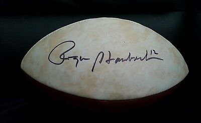 Roger Staubach Signed Dallas Cowboys Limited Edition Super Bowl Football Auto
