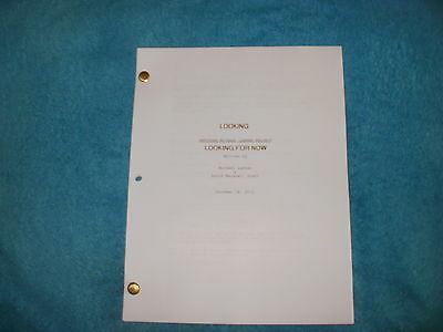 Looking Tv Pilot Script - Jonathan Groff - Murray Bartlett - Russell Tovey