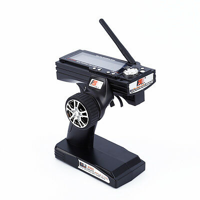 Flysky FS-GT3B 2.4G 3CH Transmitter+Receiver With Fail-Safe For RC car boat J@~