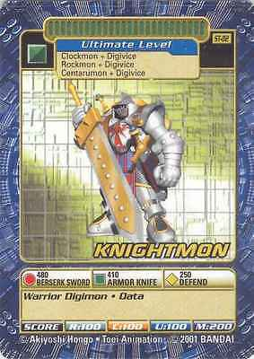 1x Knightmon st-82 Digimon Booster Series BANDAI - SP