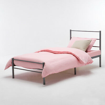 3FT Silver Bedstead Single Metal Bed Frame  for Adult Children Bedroom Furniture