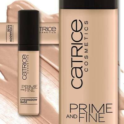 CATRICE Cosmetics Prime and Fine Eyeshadow Base Eyelid Primer PREVENTS CREASING