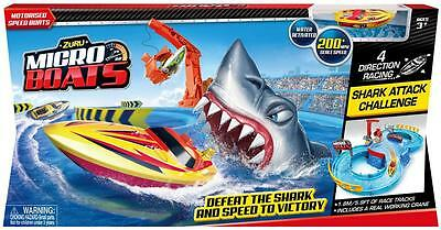 NEW Zuru Micro Boats Racing Track Play Set - Water Activated!