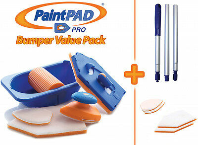 Paint Pad Pro Bumper Pack - endorsed by DIY expert Tommy Walsh